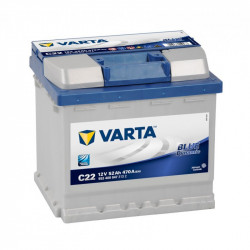 Batterie mini pelle VARTA BLUE Dynamic 12V - 52AH - 470A (C22)