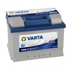 Batterie mini pelle VARTA BLUE Dynamic 12V - 60AH - 540A (D59)
