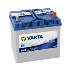 Batterie mini pelle VARTA BLUE Dynamic 12V - 60AH - 540A (D47 et D48)