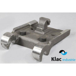 Platine à souder pour godet type KLAC system C