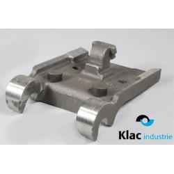 Platine à souder pour godet type KLAC system F