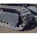 Paire de chaînes acier tuilées (largeur 300 - entraxe 101.6mm - 38 maillons)