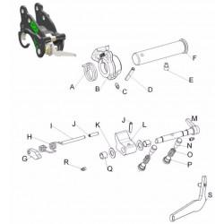 Kits SAV & pièces détachées pour coupleur ISO MORIN M0 S