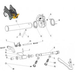 Kits SAV & pièces détachées pour coupleur ISO MORIN M4 S