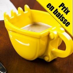 Tasse à café en forme de godet