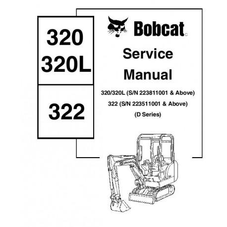 Manuel d'utilisation BOBCAT 320 / 320L / 322