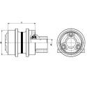 Galet supérieur CASE CX75SR / CX80 UH105T0G-CASE