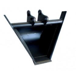 Godet Trapèze 60° mini pelle 1.2 à 1.8T