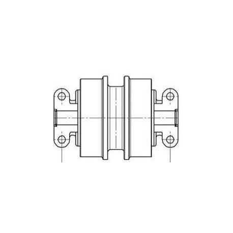 Galet inférieur JOHN DEERE 75D / 80C UF045H0C-JOHNDEERE