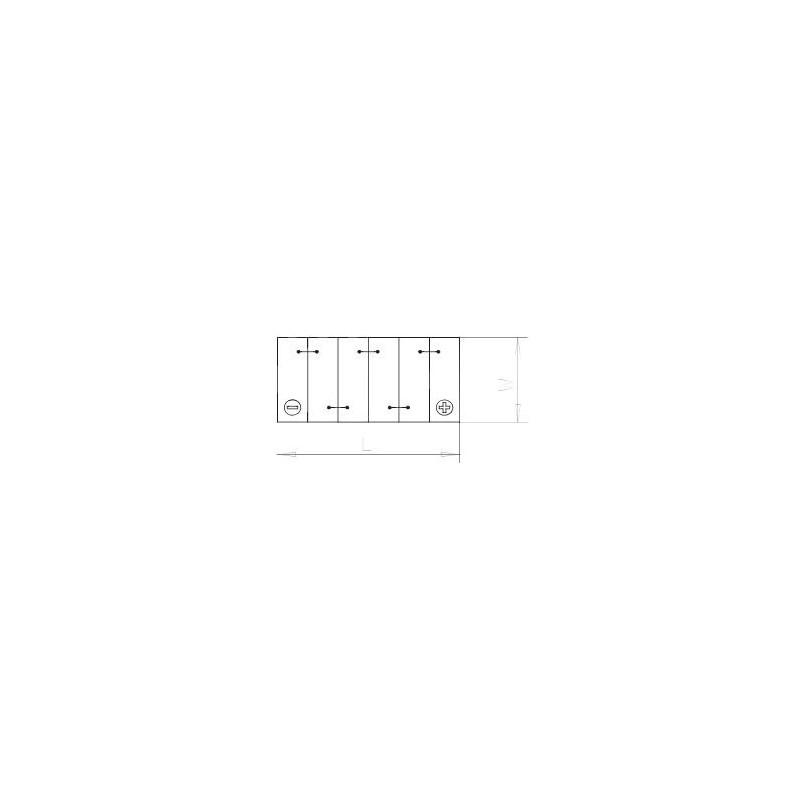 batterie 12v 60ah 242x175x175mm. Black Bedroom Furniture Sets. Home Design Ideas