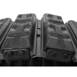 RP154/450 Lot de 78x Pad caoutchouc à clipser 450mm