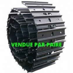 Chaînes acier tuilées déportées 450-154-39 (la paire)