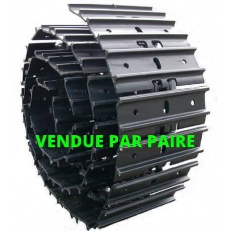 UB101Z1N44300 Chaînes acier tuilées 300-101.6-44 (la paire)