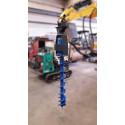 Tarière hydraulique TRH508 (2 à 8t)