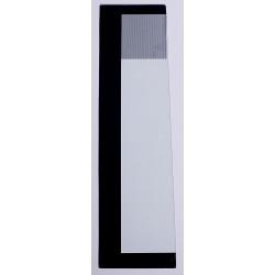 Vitre 1/4 arrière coté droit KOMATSU PC20MR2 / PC27MR2 / PC30MR2 / PC35MR2 / PC40MR2 / PC50MR2 VIT-22M-54-24251