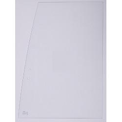 Vitre main droite bas 1/4 KOMATSU PC110R VIT-816024515