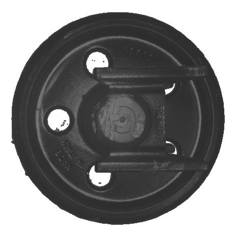 Roue folle HANIX H26C / H35A / H36B / H36C / N260.2 / N300.2 / N350.2 UX030Z2E-HANIX