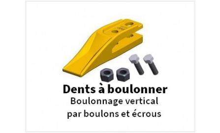 Dents à boulonner