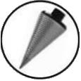 cone fendeur à bois
