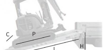 Quelles rampes choisir pour une mini pelle ?