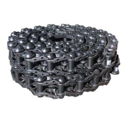 Paire de chaînes acier nues